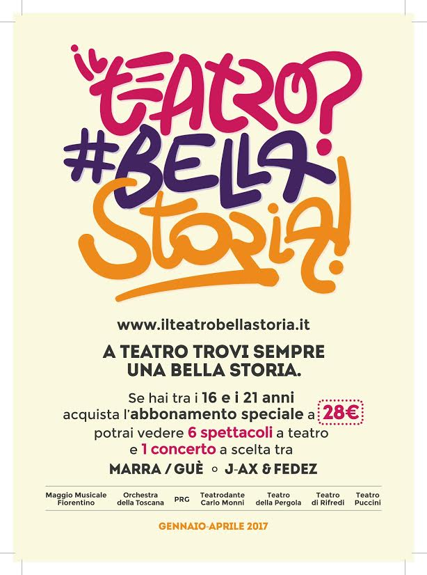 Il Teatro? #Bellastoria! – Un progetto di CR Firenze per la diffusione del teatro