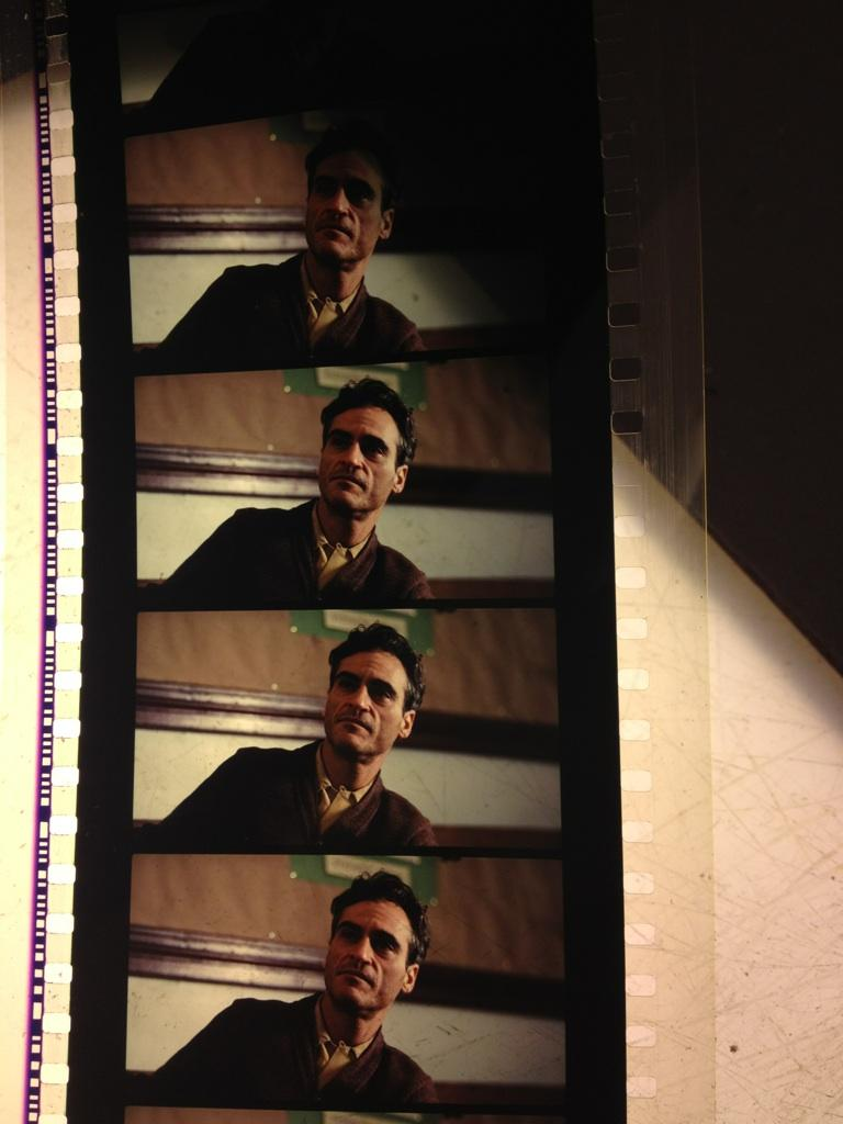 The Master di Paul Thomas Anderson, pellicola 70mm
