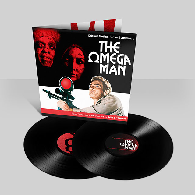 The Omega Man by Ron Grainer, original vinyl soundtrack: video unboxing + review