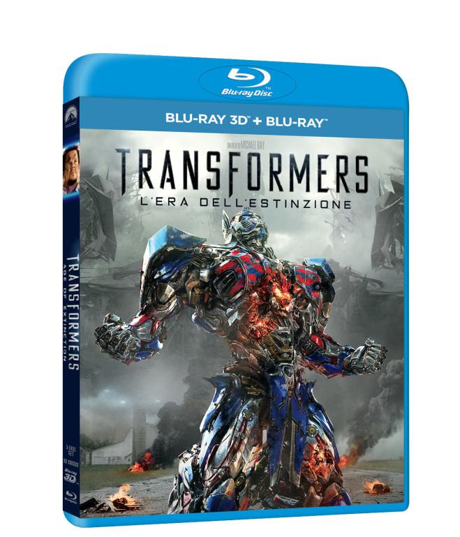 Transformer 4: l'era dell'estinzione – le edizioni Blu-Ray, ricche di Extra