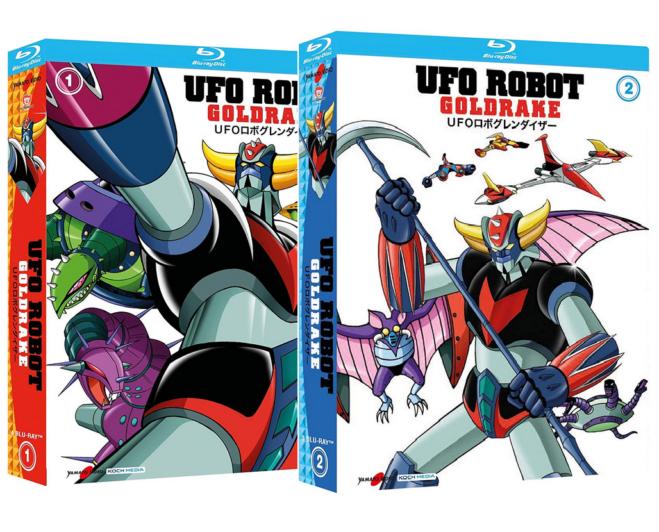 Ufo Robot – Goldrake: I Blu Ray da Collezione di Yamato Video e Koch Media, il video unboxing