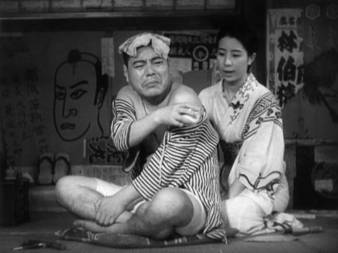 Storia di erbe fluttuanti di Ozu Yasujiro