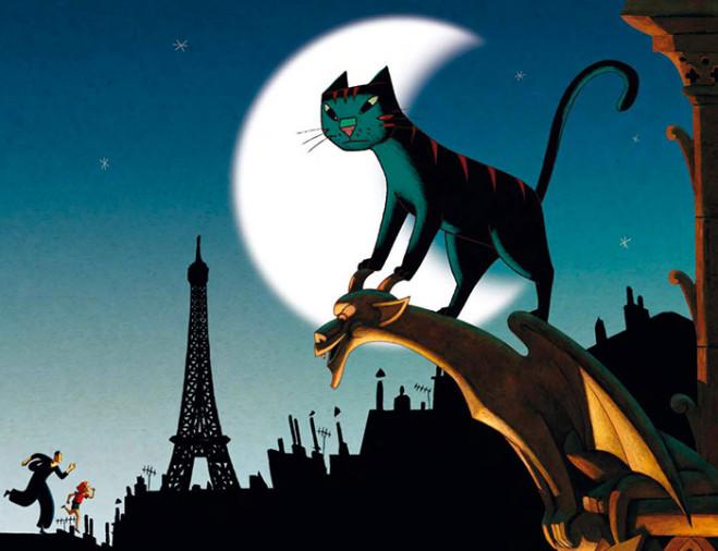 Un gatto a Parigi di Jean-Loup Felicioli e Alain Gagnol: la recensione