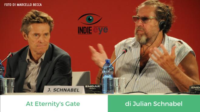 At Eternity's Gate di Julian Schnabel, la conferenza stampa a Venezia 75