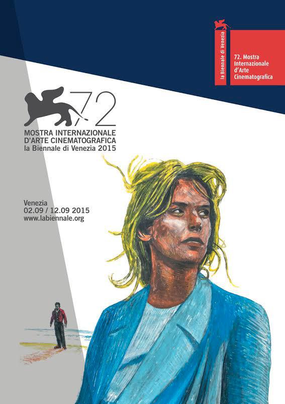 Il manifesto della 72 Mostra di Venezia