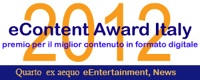 eContent Award 2012, quarto premio indie-eye network