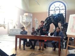 Giovanni Lindo Ferretti: Partitura per Voce, Cavalli, Incudine con mantice e Bordone – la conferenza stampa
