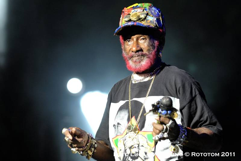 "Sunsplash 2011, 26/08/2011 - Musica - Main Stage - Lee ""Scratch"" Perry - Foto Luca d'Agostino _Rototom Sunsplash © 2011"