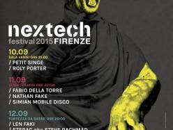 Nextech Festival nona edizione: tra Firenze e la scena internazionale
