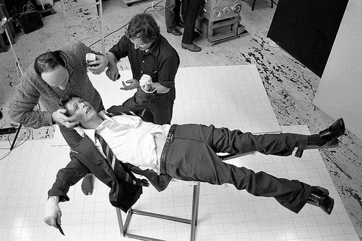 Brian Duffy - parte di un set di foto realizzate nel 1979 per l'artwork di Lodger