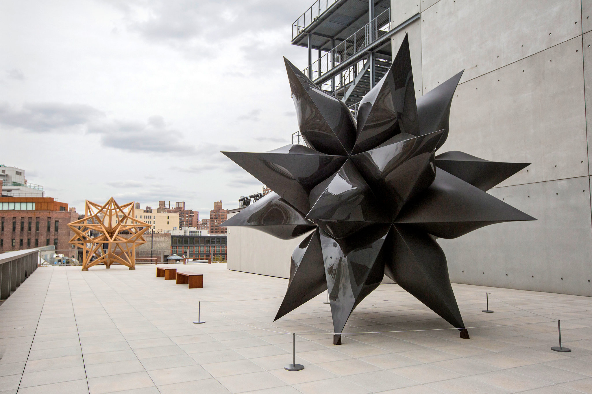 Black Star - Frank Stella