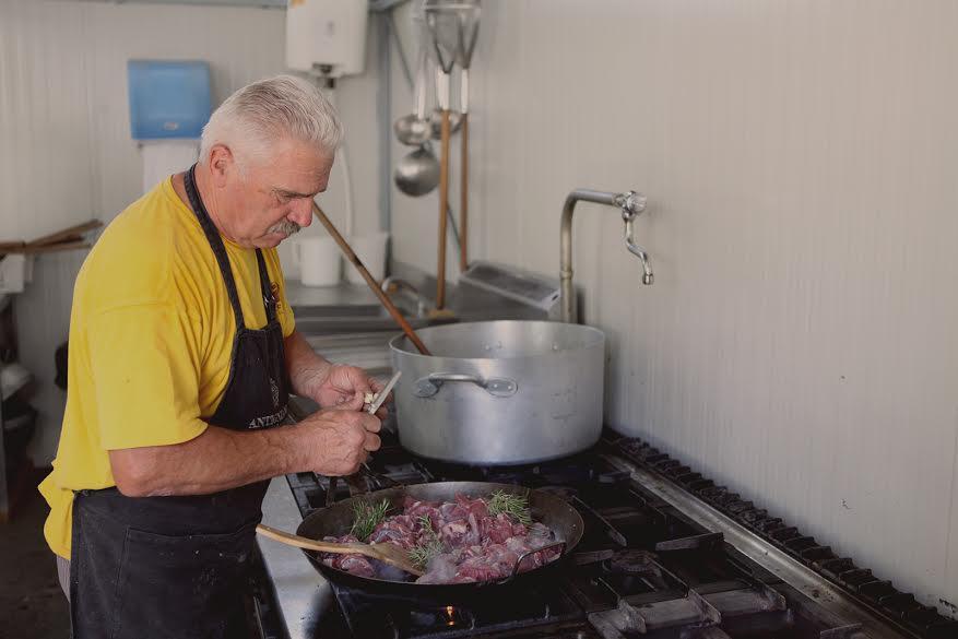 Festa della Musica di Chianciano Terme XVII - I Cucinieri al lavoro