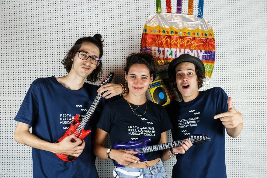I volontarie le volontarie della Festa Della Musica di Chianciano Terme
