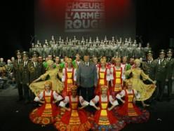 Il coro dell'Armata Rossa a Firenze: uno degli ensamble corali più famosi al mondo