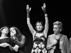 Mago Santo, Giorgia Del Mese, Verdiana Raw, Scandalosobrio: Notte in rosa al Piazzale Michelangelo