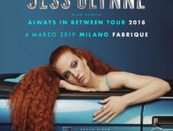 Jess Glynn la pop diva britannica dal vivo a Marzo al Fabrique di Milano