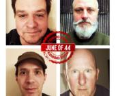 June of 44, sei date in Italia da Milano a Bari