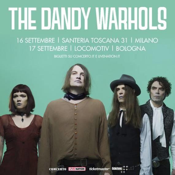 The Dandy Warhols, due date italiane a settembre per il 25/mo di carriera: la storia di Bohemian Like You