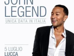 John Legend al Lucca Summer Festival, 5 Luglio 2020: In anticipo sul Bigger Love Tour